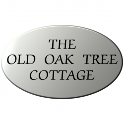 24 x 14½ Inch Oval Wood House Name Plaque