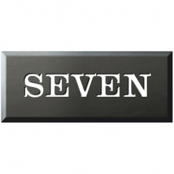 6 Inch x 2½ Inch Welsh Slate Name Plaque