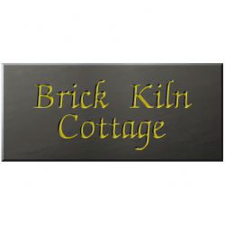 18 x 8 Inch Welsh Slate House Name Sign