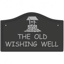 14 x 8¾ Inch Bridge Top Ceramic Name Wall Plate