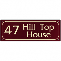 Bespoke House Signs Signs For Homes Design Your Own