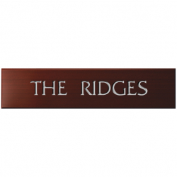 15 x 3½ Inch Wooden House Name Plaque