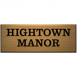 12 x 4½ Inch polished Wood Name Plaque