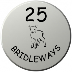 10 Inch Diameter Circular UPVc Name Plaque with Bevelled Edges