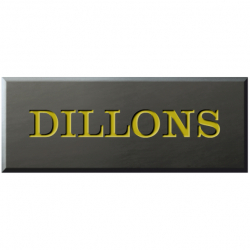 9 Inch x 3½ Inch Welsh Slate Name Plaque